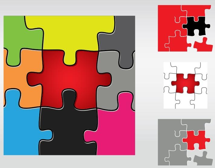 20+ Free Printable Puzzle Piece Templates