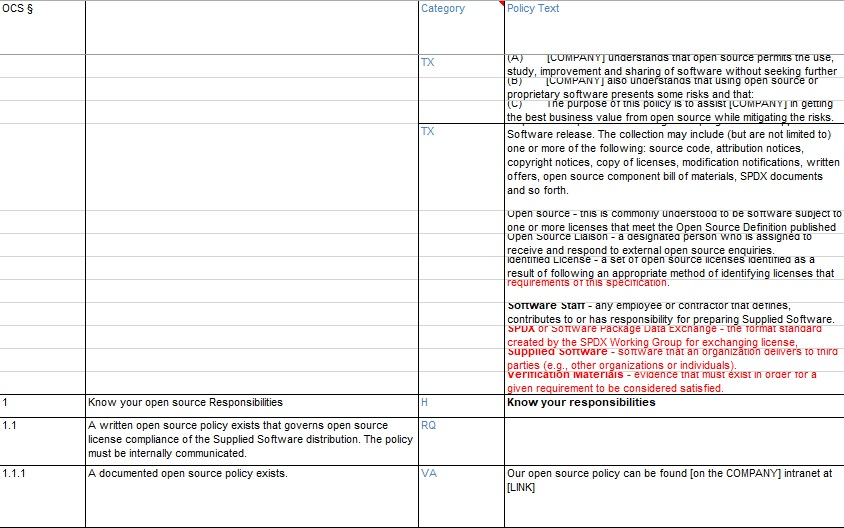 policy proposal template excel