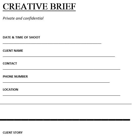 20 Free Creative Brief Templates [MS Word]