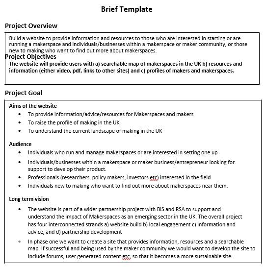 free creative brief template 13