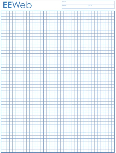 free graph paper template 14