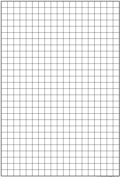 free graph paper template 8