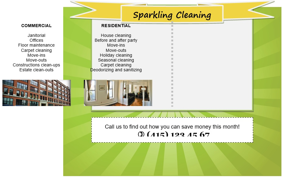 free house cleaning flyers 6