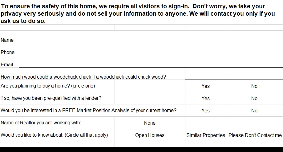 free open house sign in sheet 3