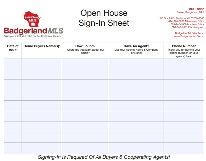 free open house sign in sheet 7