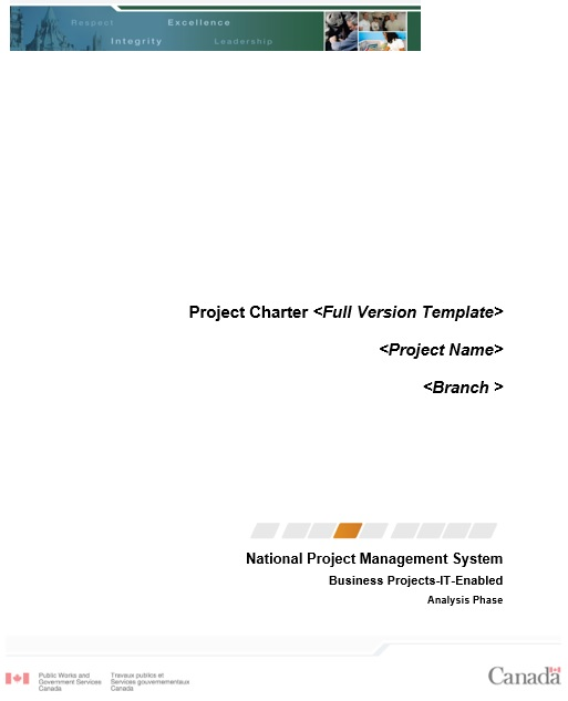 free project charter template 11