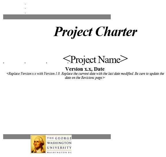 free project charter template 12