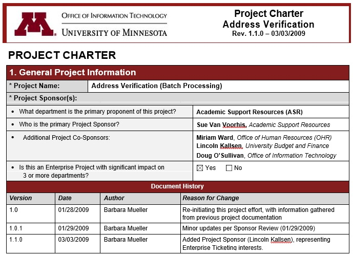 free project charter template 6