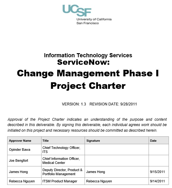 free project charter template 9