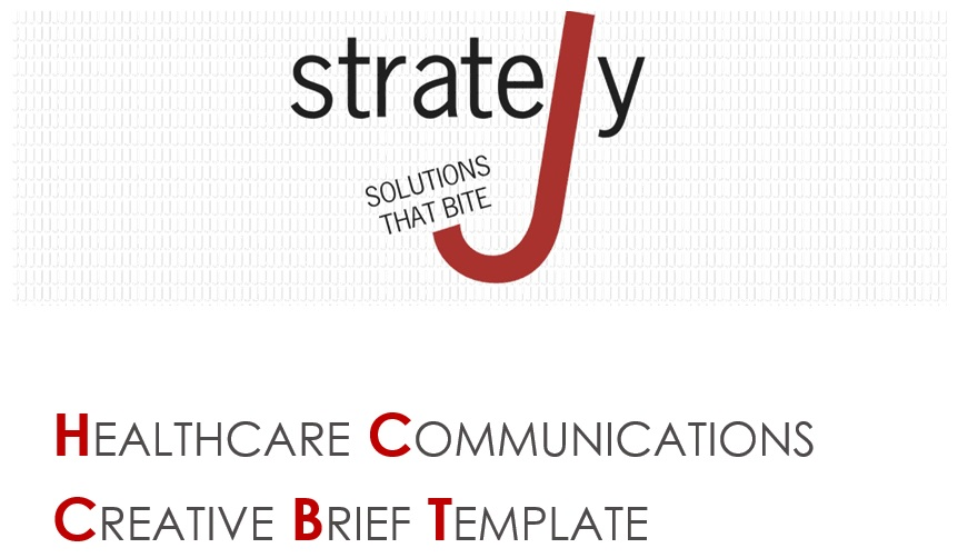 healthcare communications creative brief template