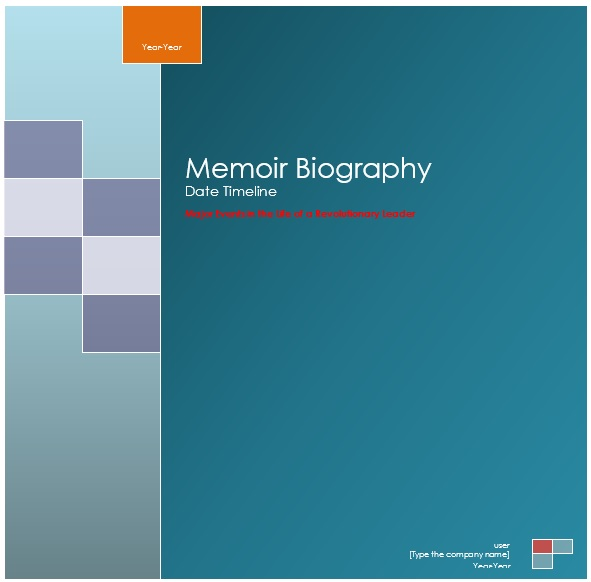 Printable Biography Templates & Examples [MS Word]