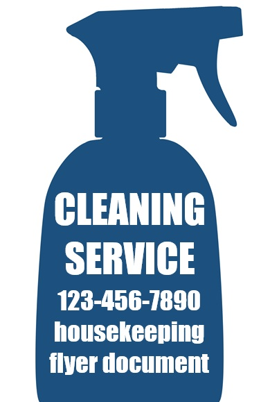 printable house cleaning flyers 1
