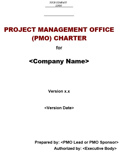 project management office template